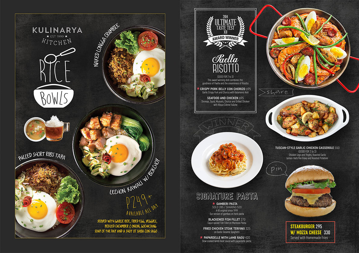 In Out Board >> Kulinarya Kitchen | Brand By Design Co.